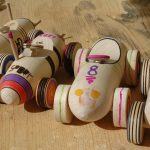 training games and wooden toys