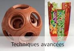 Advanced technical courses in wood turning.  Difficult but rewarding